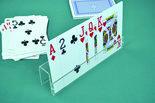 plastic kaartenhouder om uw kaarten in te zetten tijdens het spelen