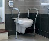 toiletsteun hangend toilet
