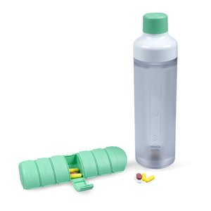 Pillendoos groen YOS bottle