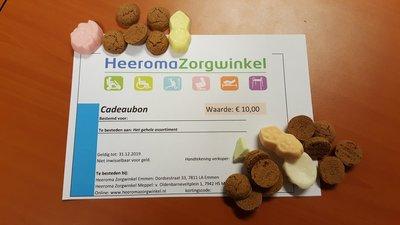 Cadeuabon Heeroma Zorgwinkel